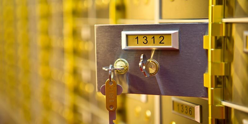 Safety Deposit Boxes Oxford